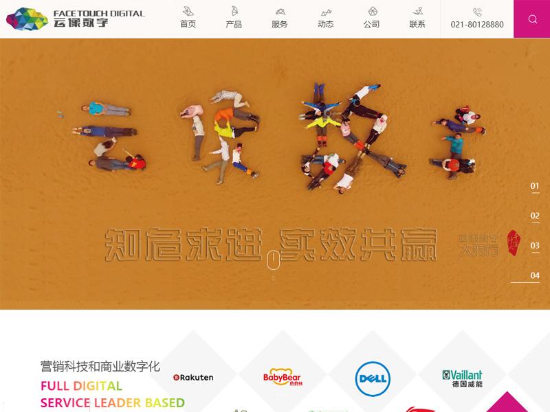 上海云像网站开发维护