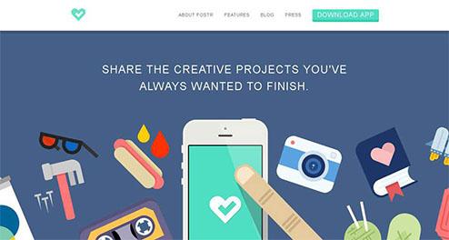 什么是扁平化网站设计